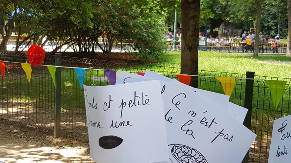Pique-nique géant / La grande tavolata